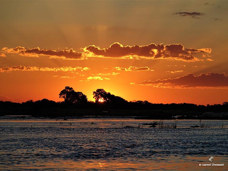Sunset in Botswana
