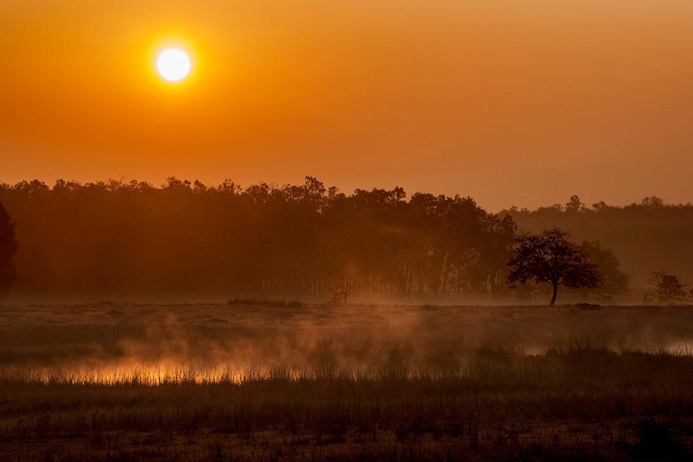 Madhya Pradesh coucher de soleil