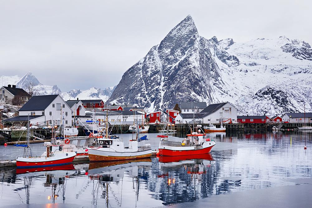Port de plaisance Norvège