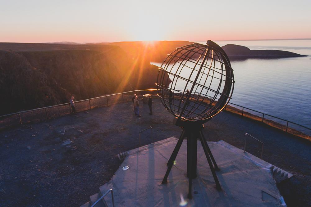 Soleil de minuit Tromso
