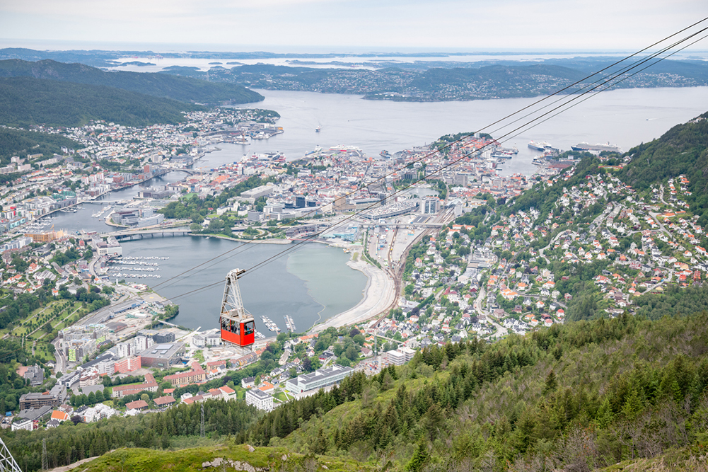 Téléphérique Bergen